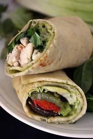 Ciao Bella: our sandwich wraps