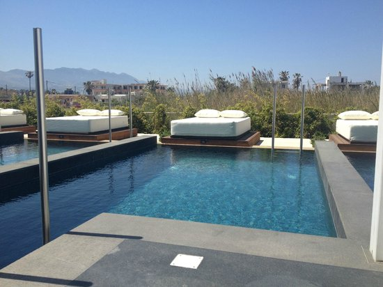 Private pool picture of aqua blu boutique hotel spa for Design boutique hotel kos