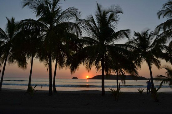 Casa Buenavista: Wonderful Sunset in Playa Carrillo!