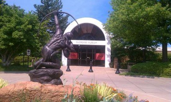 Gilcrease Museum: Front of the Museum