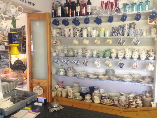 The Buttley Tearoom: The china