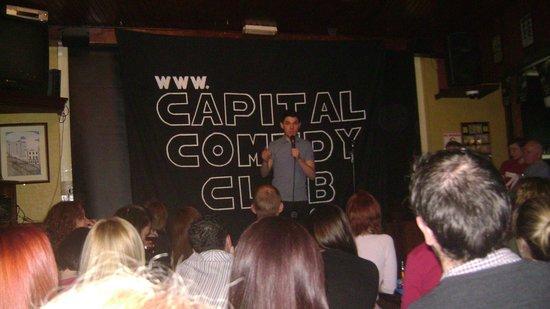 Chaplins Comedy Club : A comic (HILARIOUS) - Hickey