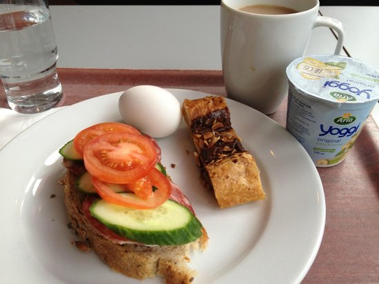 Hotel Copenhagen Crown: My breakfast