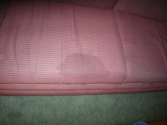 Extended Stay America - St. Louis - Westport - Craig Road: Stain on first couch