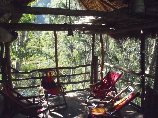 Eco Quechua Lodge: View from the second floor