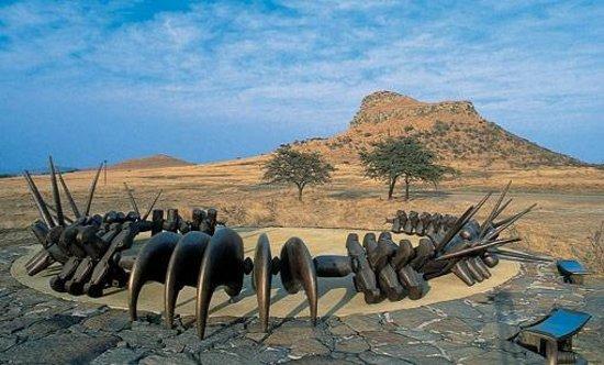 Isandlwana Battlefield Zulu Memorial