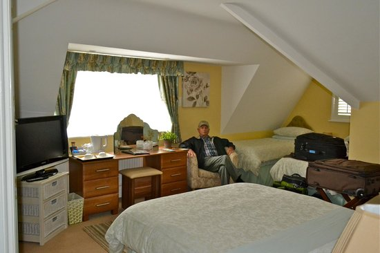 The Mayfair Guest House: Very top room