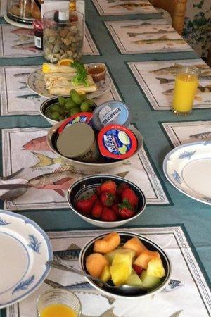 Hermosa Lodge: breakfast 9 - 10am