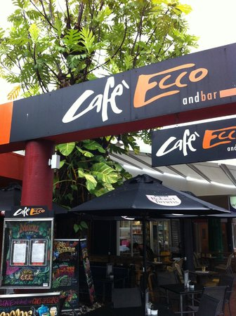 Cafe Ecco: Located on the main street