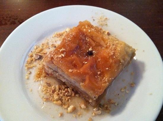 Samos Restaurant: baklava