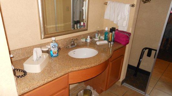 Homewood Suites Daytona Beach Speedway - Airport: Nice vanity area
