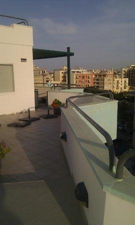Park Lane Aparthotel: our terrace