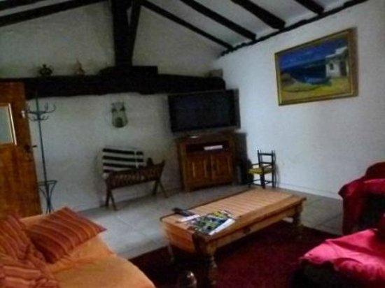 Chambres d'Hotes Ttakoinenborda a Sare: The TV room