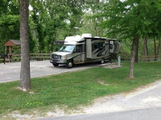 Lancaster, TN: Long Branch Recreation Area campground Site #6