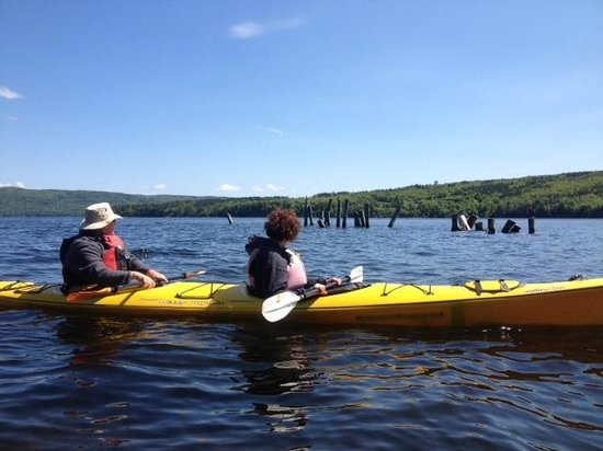 North River Kayak: On the water