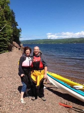 North River Kayak: On the beach
