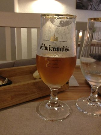 Valtera Restorans: A delicious local beer