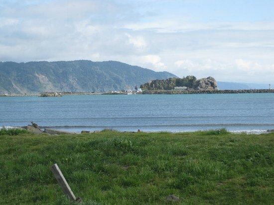 Shoreline RV Park and Campground: View from campsite - Shoreline RV Park