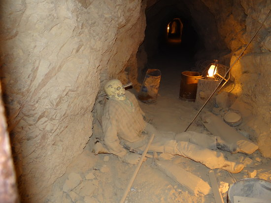 Eldorado Canyon Mine Tours: Gold mine