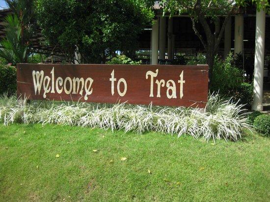 Nirvana Resort Koh Chang: Flughafen Trat