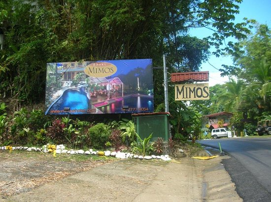 Hotel Mimos : Sign