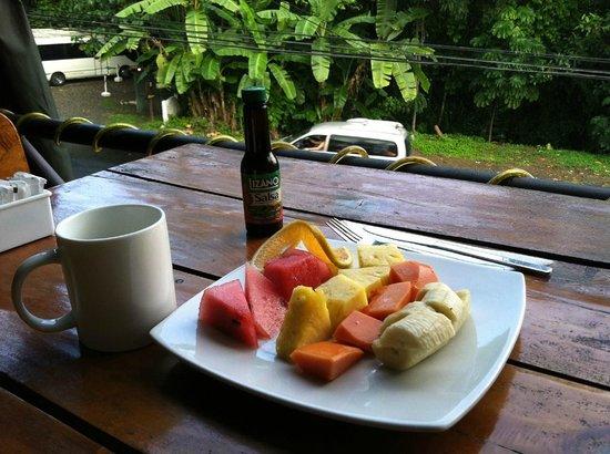 Hotel Mimos: my breakfast