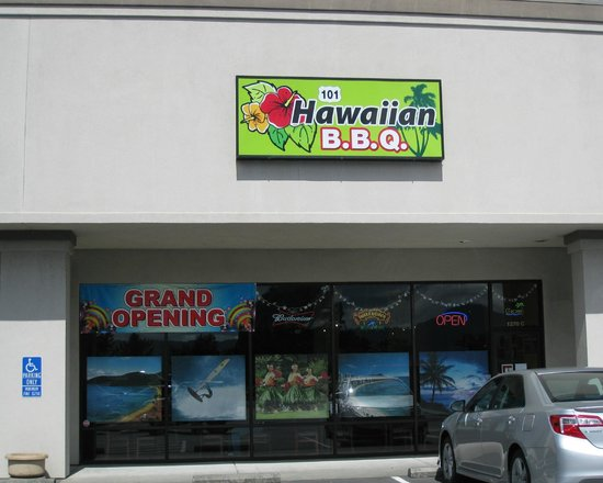 101 Hawaiian B B  Q: 101 Hawaiian BBQ, Crescent City