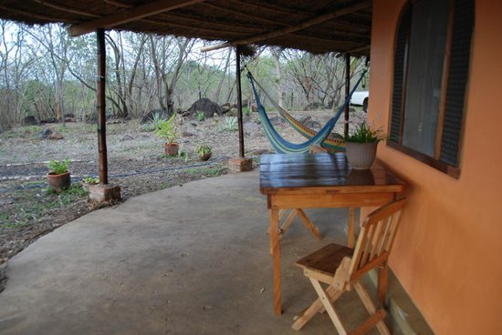 Finca del Sol: Outside the cabana