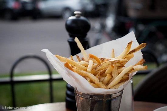 The White House Tavern: Hand-Cut French Fries are fantastic