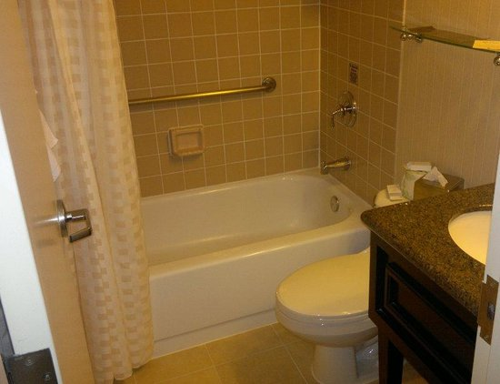 Doubletree Hotel Boston/Westborough: No issues with bathroom cleanliness