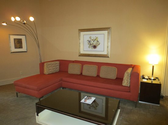 Sitting Area Tower Suite Picture Of Treasure Island Ti