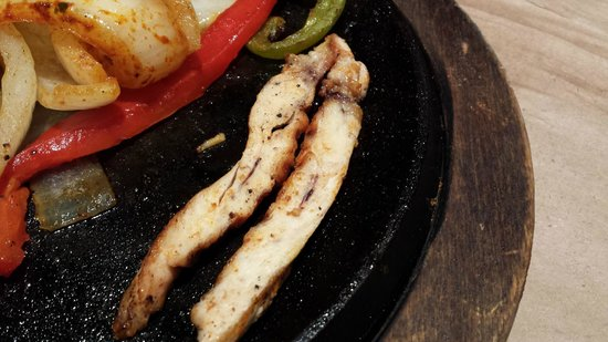 Jack Astor's : my re-cooked previously raw chicken