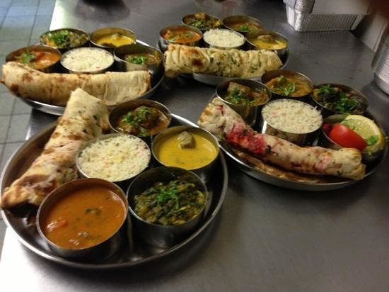 Special Thali Dishes Picture Of Indian Fast Food