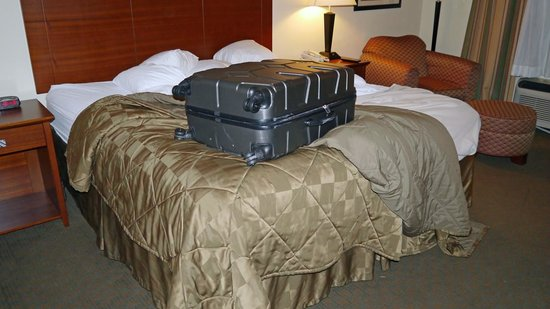 Comfort Inn Huntsville : room overview 3