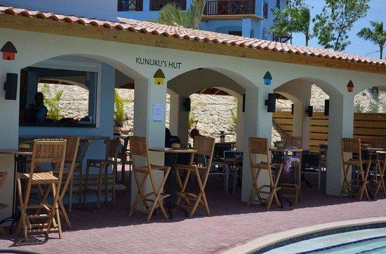 Kunuku Aqua Resort: Restaurant