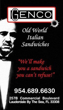 Genco Sandwiches Inc.: Genco Sandwiches