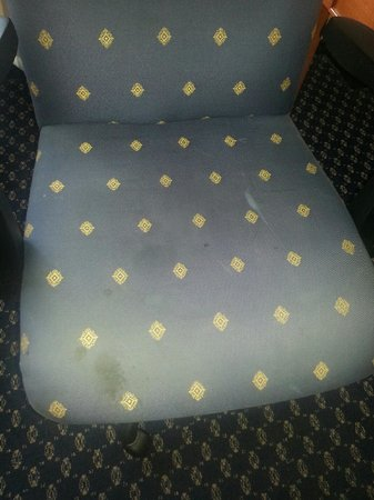 Atlanta Marriott Peachtree Corners: Nasty Chair