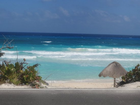 "Secrets Aura Cozumel : The ""other side"" of the island. Literally the most beautiful thing I've ever seen!"