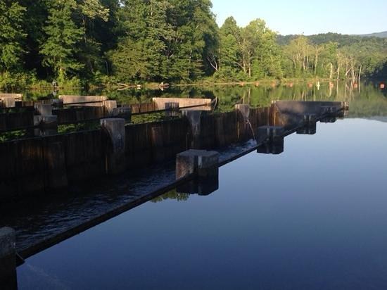 South Holston Dam: below the dam