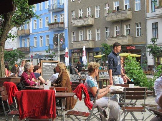 Oderquelle: street scene