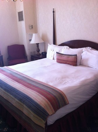Hawthorne Hotel: most comfortabul beds