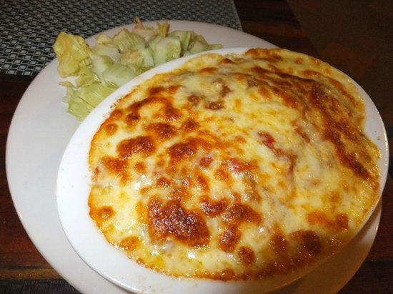 Mayas Native Garden Restaurant: mexican lasagna