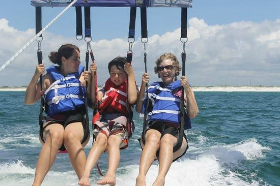 Just Chute Me Parasail: Fun for all ages