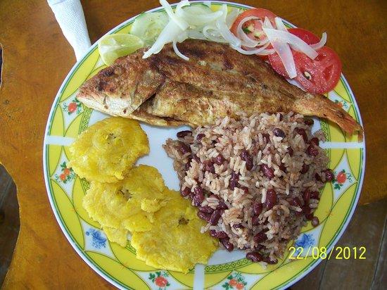 Cabanas Laru Beya: Delicias de la cocina