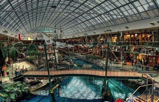 Fantasyland Hotel & Resort: Inside mall view