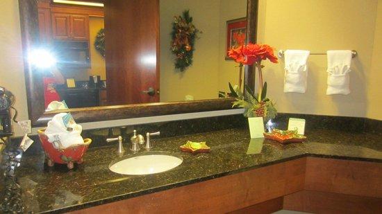 The Inn at Christmas Place: The bathroom hand soap smells nice.