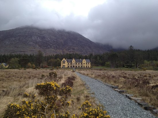 Lough Inagh Lodge: From the Lough