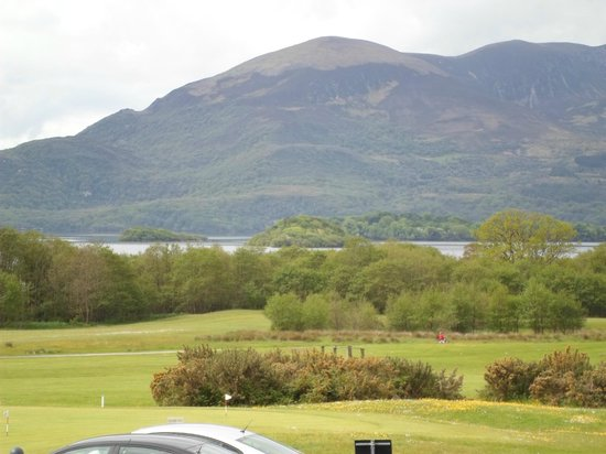 Castlerosse Hotel & Holiday Homes: View from outside Mulligan's bar