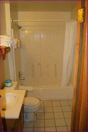 Honey Bear Lodge & Cabins: Bathroom