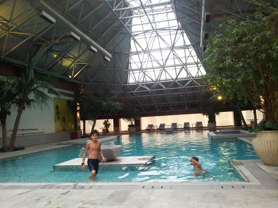 Ascott Beijing: Lovely pool & jacuzzi!